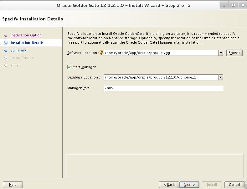 install oracle goldengate 12c on linux 7 - DBACLASS DBACLASS