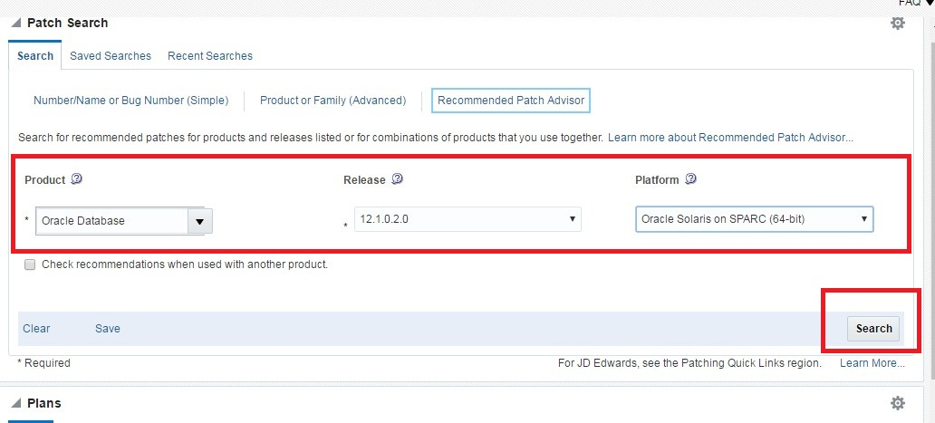Apply database patch from OEM cloud control DBACLASS